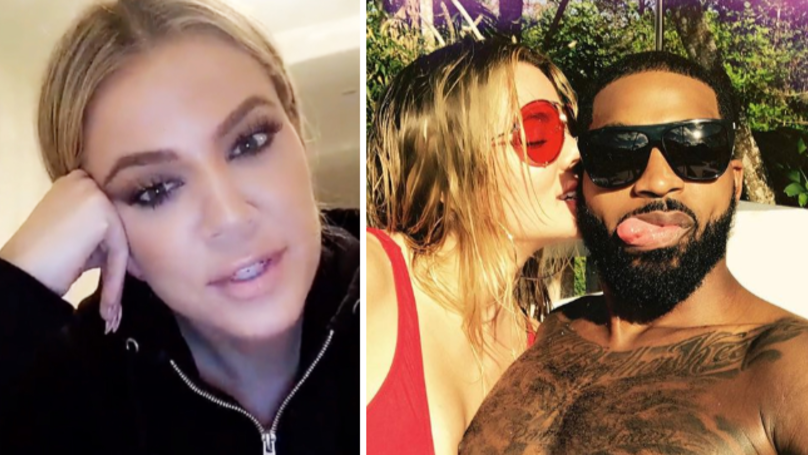 Khloé Kardashian Reveals Why She's 'Staying With Tristan Thompson'