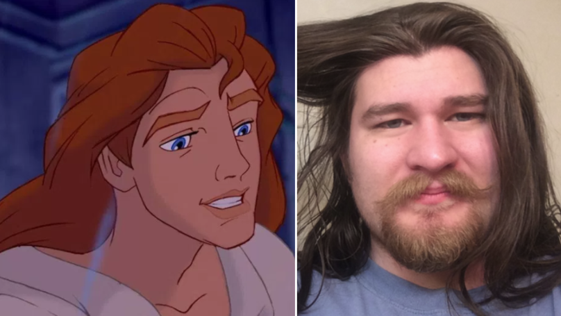 This Man Is Being Compared To A Disney Prince After Incredible Weight Loss