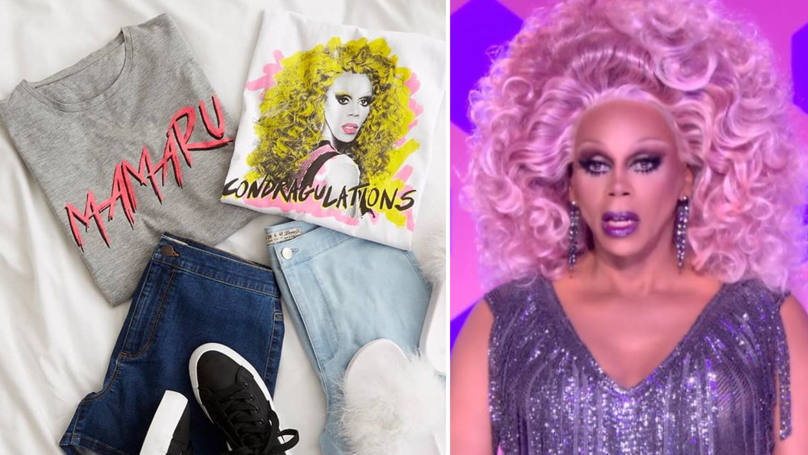 Queens, Primark's Just Launched Loads More RuPaul's Drag Race T-Shirts