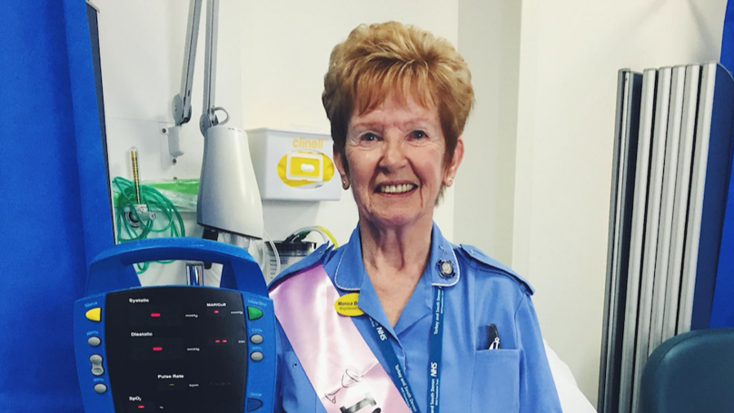 Britain's Longest Serving Nurse Retires After 66 Years