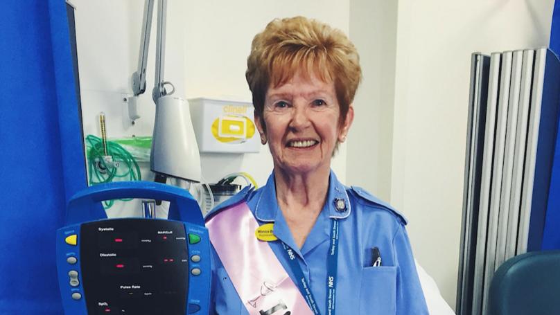 Britain's Longest Serving Nurse Retires After 66 Years