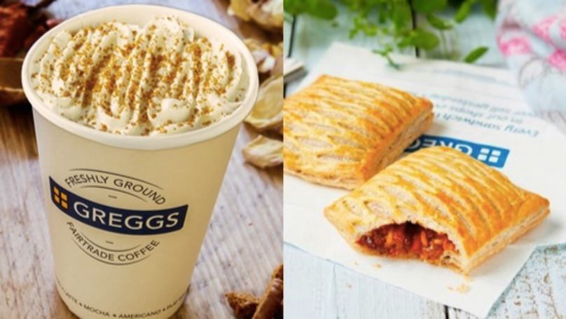 Pumpkin Lattes And A New Bake? Here's Greggs' Autumn Range