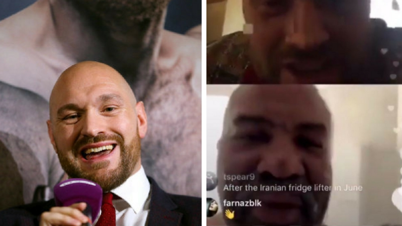 Shannon Briggs Agrees To Fight Tyson Fury Live On Instragram Whilst Sitting On The Toilet