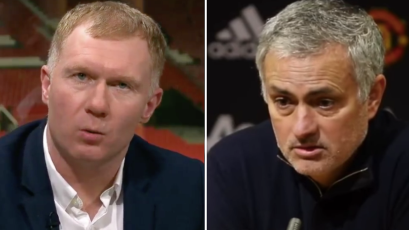 Nobody Can Believe What Jose Mourinho Has Just Said About Paul Scholes