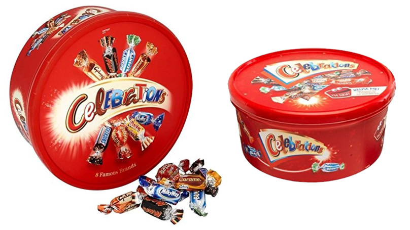 Tesco Is Selling Huge Tubs Of Mars Celebrations For Only £2.50