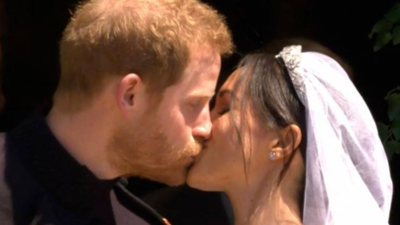 The Duke And Duchess Of Sussex Make Their First Appearance As Newlyweds