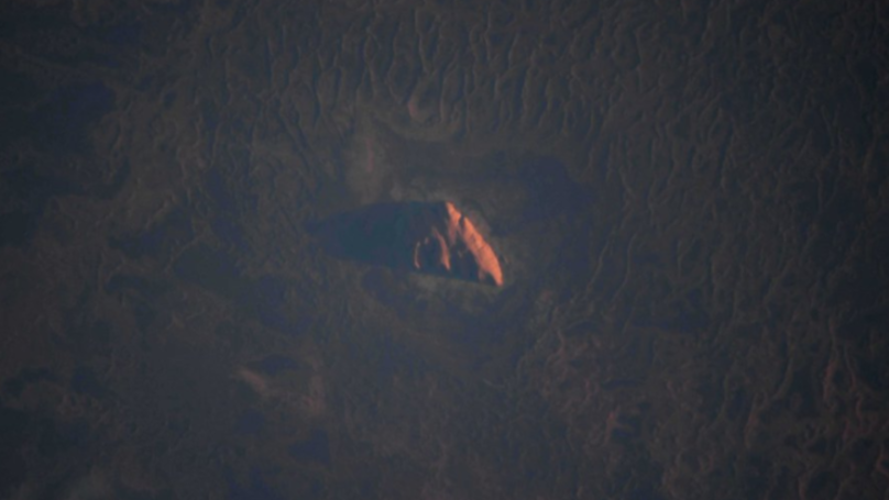 Astronaut Takes Incredible Photo Of Uluru From Space