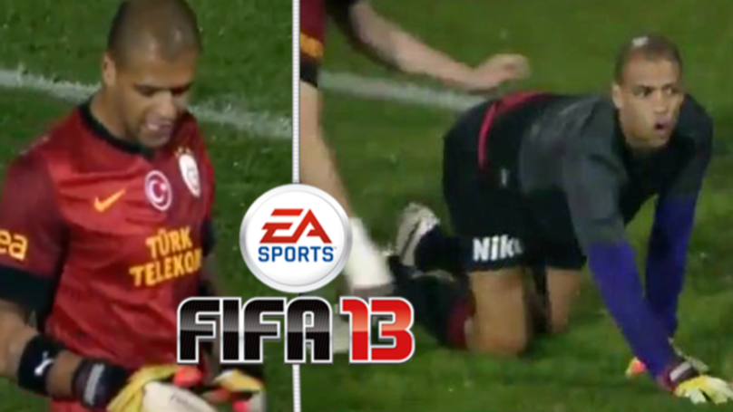 Felipe Melo Had His Own Goalkeeper Card On FIFA 13 And It Was Mad