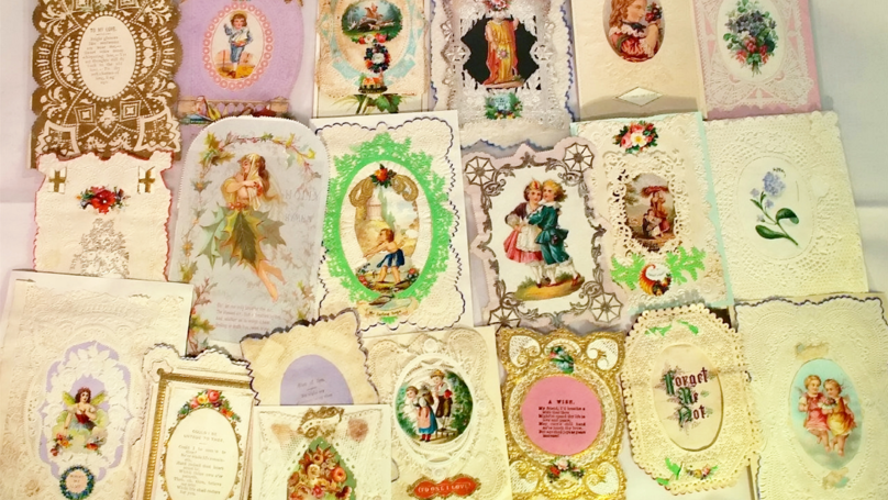 Victorian Valentine's Day Cards Found In Shoebox Give Lesson's In Romance