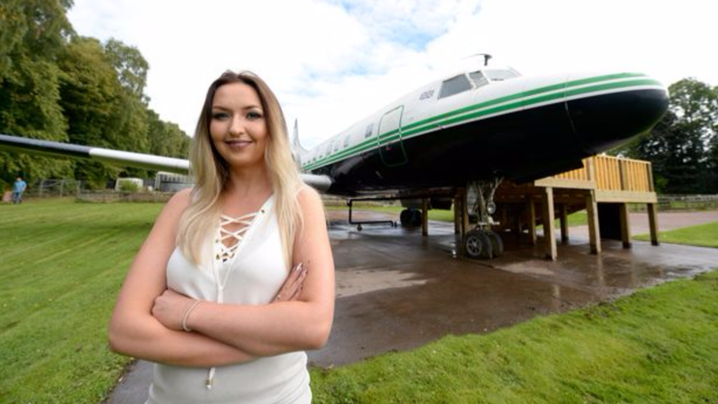 Woman Spends £30,000 Transforming Plane In Secret Project