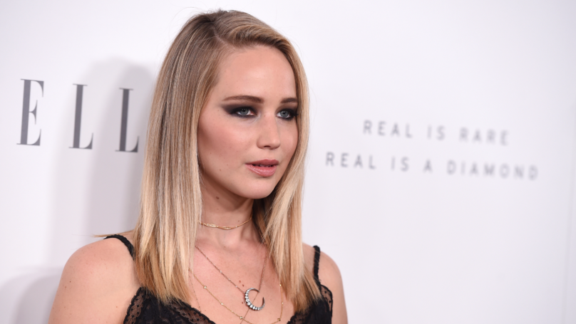 Jennifer Lawrence Claims Movie Producers Forced Her To Do 'Naked Line Up'