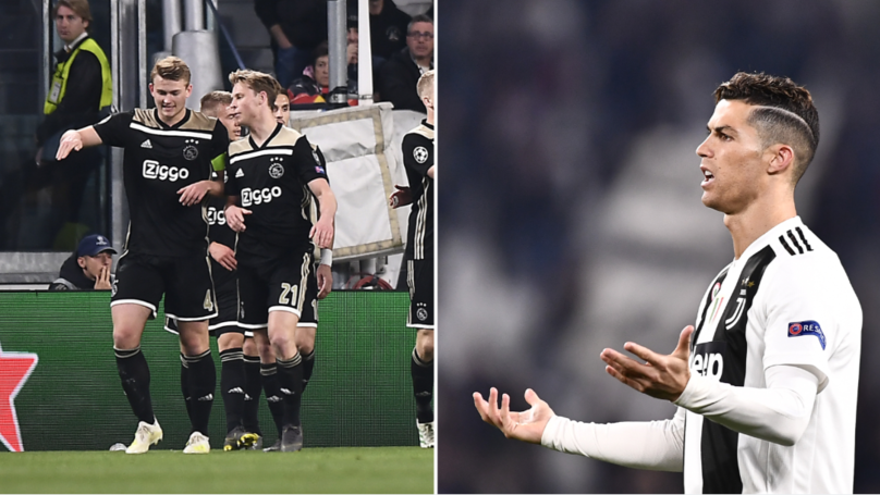 Ajax Knock Juventus Out Of The Champions League