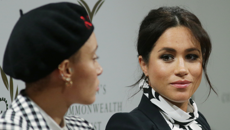 Meghan Markle Celebrates International Women's Day With A Panel Talk
