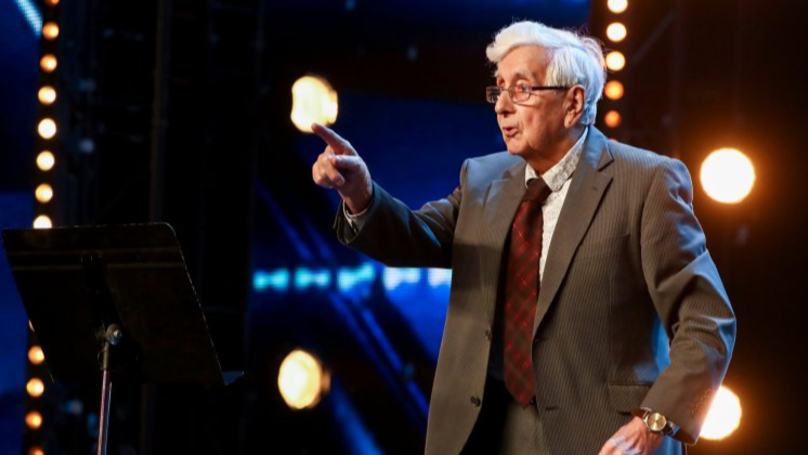 'Gangsta Granddad' Raps Stormzy's 'Shut Up' On Britain's Got Talent