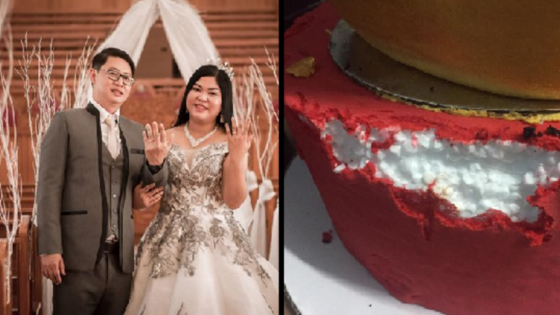 Caterer Arrested After Devastated Bride Discovers Wedding Cake Is Made From Polystyrene