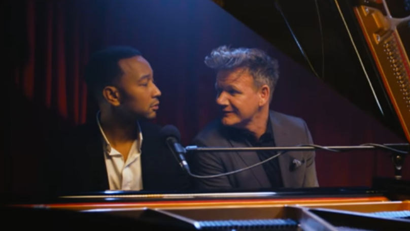 John Legend Singing Gordon Ramsay Quotes Is The Best Thing You'll Watch Today