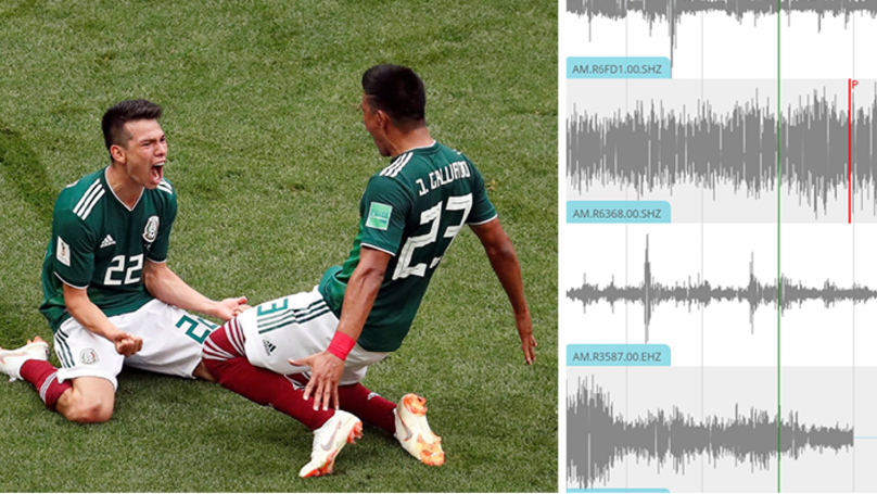 Mexican Government Reports Mini Earthquake Caused By Goal Celebrations Against Germany