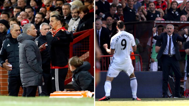 What Zlatan Ibrahimović Told José Mourinho Before He Left Manchester United