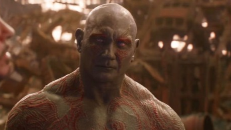 Dave Bautista Improvised Drax's Best Line During 'Avengers: Infinity War'