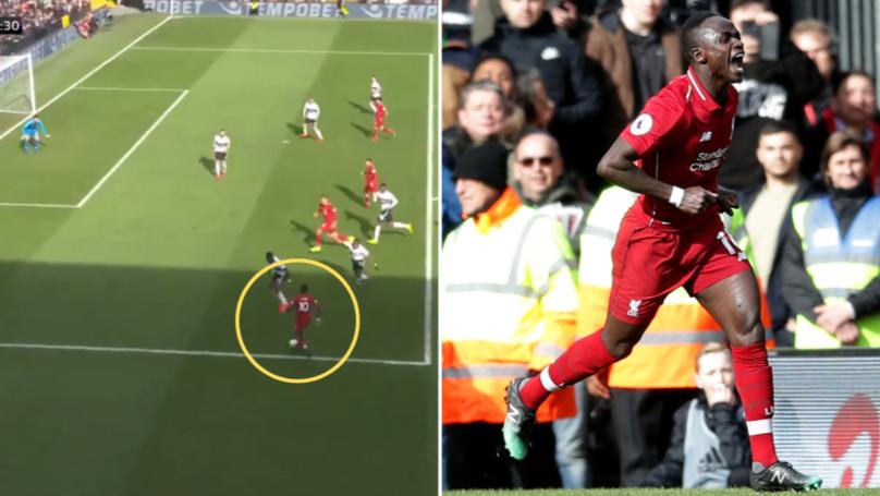 Liverpool's Sadio Mane Has Now Scored 11 Goals In His Last 11 Games