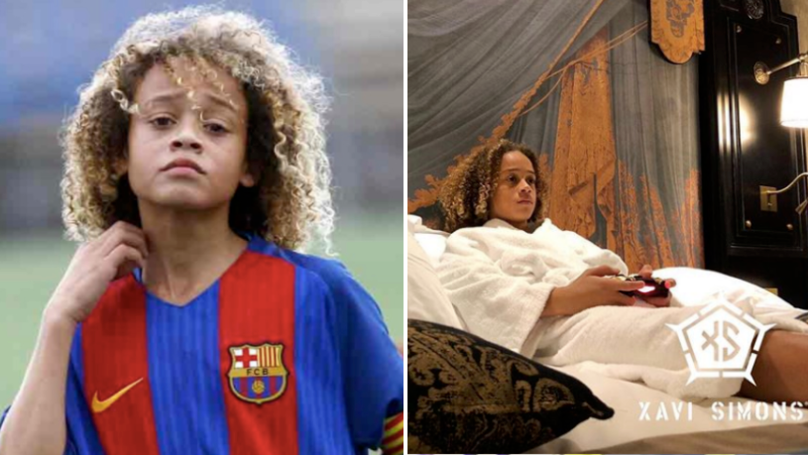 At 15 Years Old Barcelona Prodigy Xavi Simons Has A Truly