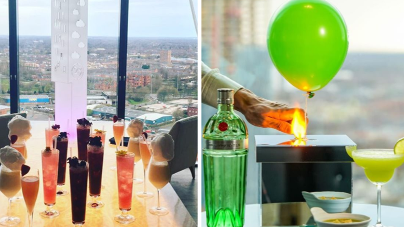 Cloud23 At The Hilton's Cocktail Emporium Is The Perfect Date Night
