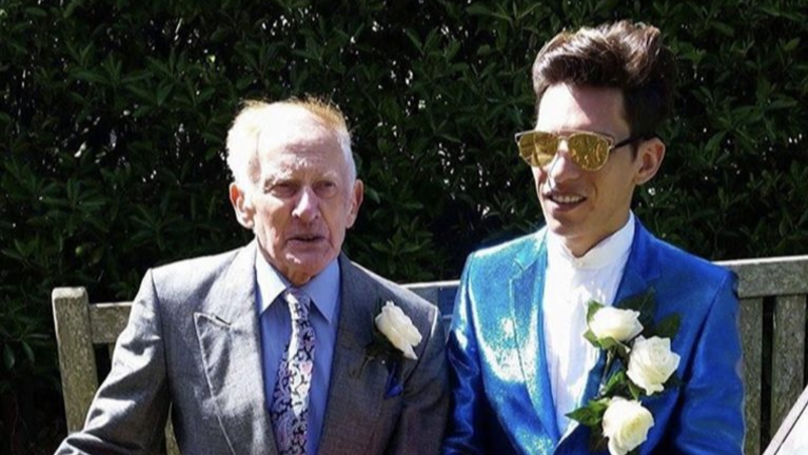 Former Priest, 80, And His 25-Year-Old Toyboy Live 1,500 Miles Apart But Are 'Happy'