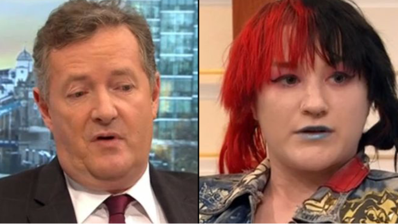 Piers Morgan Lays Into Gender-Fluid Guest On This Morning