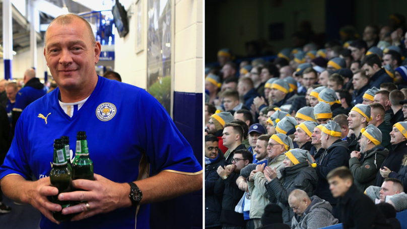 Leicester City Giving Free Beer, Mince Pies To Fans At Manchester City Match