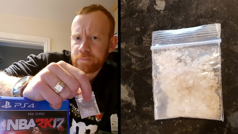 Dad Finds 'Bag Of Drugs' Inside Case Of His Four-Year-Old Son's Video Game