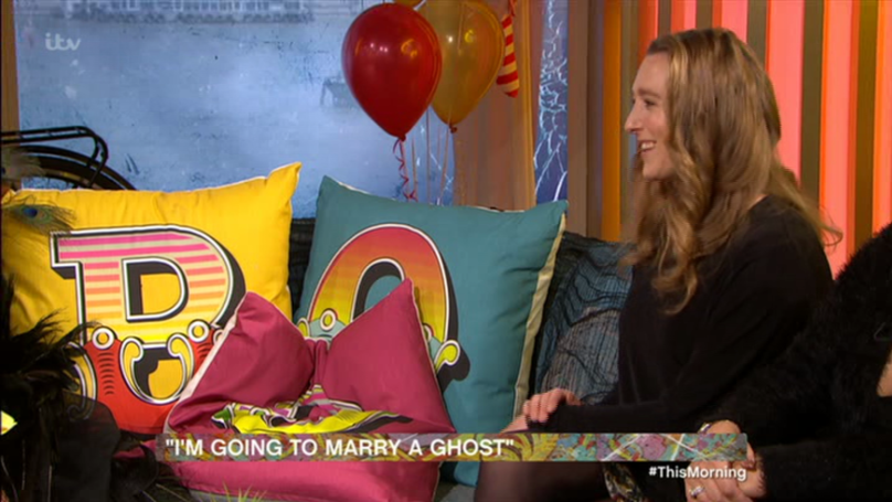 People Lost It When Phillip Schofield Interviewed A 'Ghost' Live On 'This Morning'