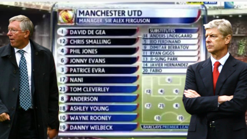 On This Day In 2011: Manchester United Demolished Arsenal 8-2 With This Team