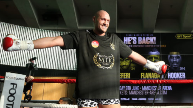 Tyson Fury Reportedly Bought Nando's For 52 People Last Night
