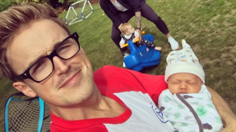 Tom Fletcher Shares Hilarious Snap Of The Exhausting Reality Of Parenthood