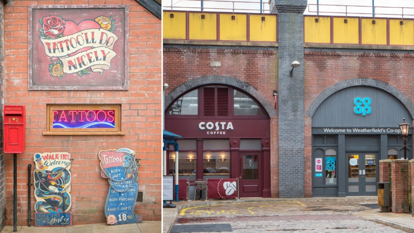 First Look At Coronation Street's New Street Which Features A Memorial To The Manchester Arena Attack