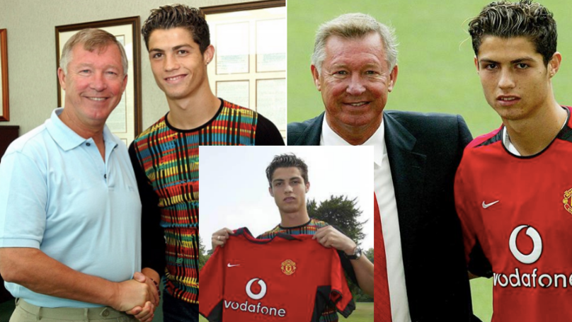 15 Years Ago: Cristiano Ronaldo Signed For Manchester