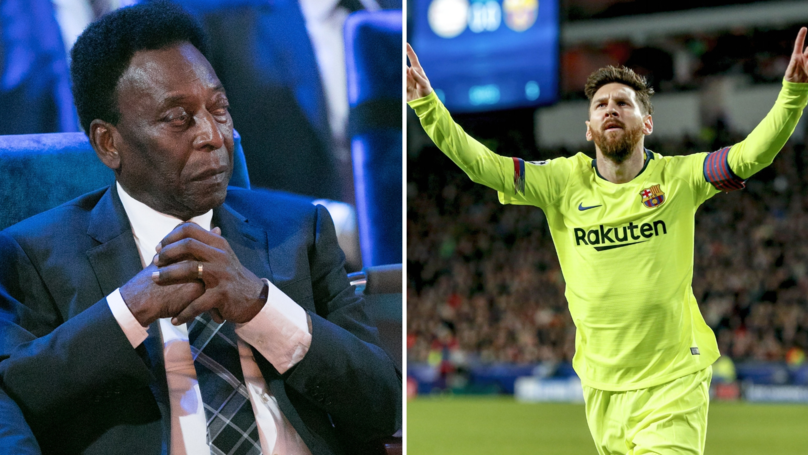 Barcelona Fan Slams Pelé In Brilliant Thread After Brazilian Legend's Criticism Of Lionel Messi