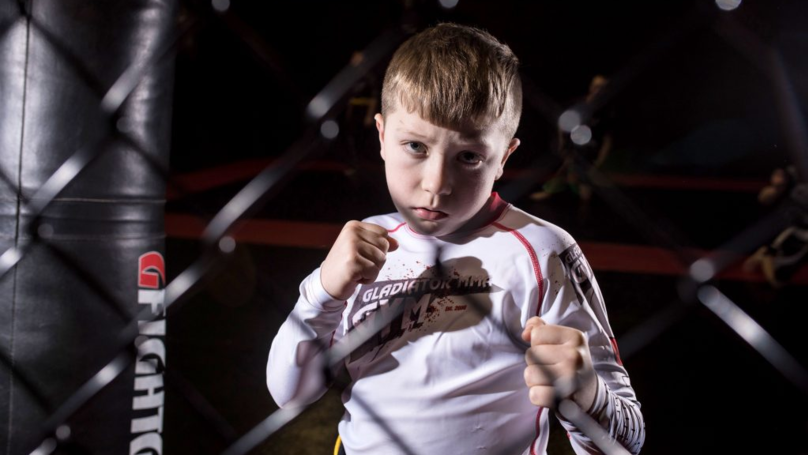​Nine-Year-Old Schoolboy Believed To Be World's Youngest Cage Fighter