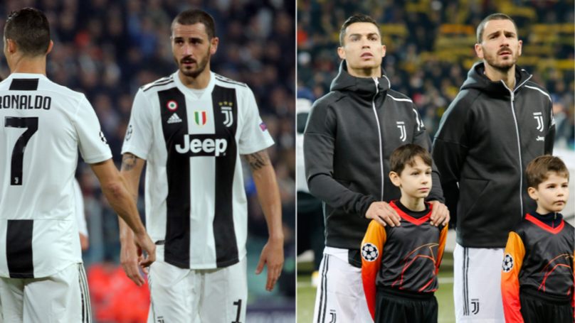 Leonardo Bonucci Reveals The Difference Between Cristiano Ronaldo And Other Players
