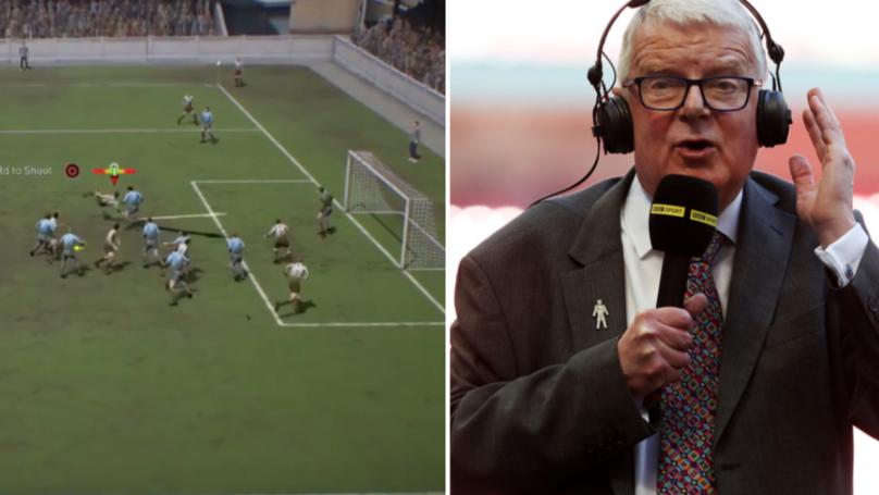 John Motson's Commentary Returns To FIFA 19