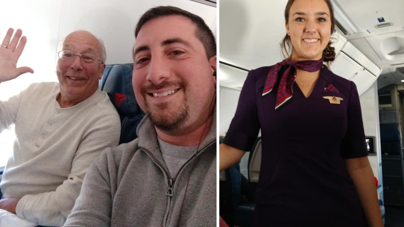 Dad Takes All Of Flight Attendant Daughter's Flights To Spend Time With Her Over Christmas