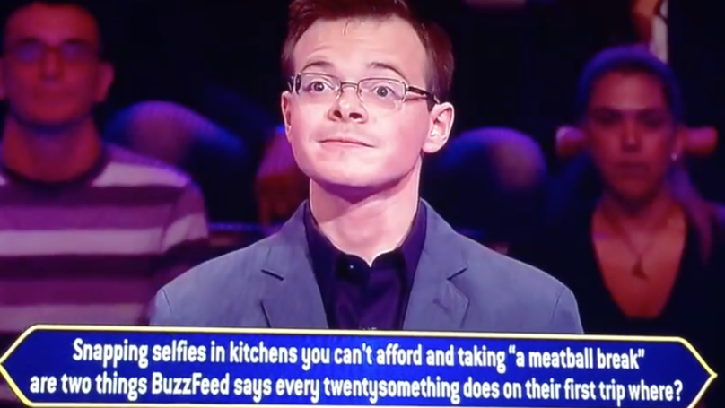 Cocky 'Who Wants To Be A Millionaire' Contestant Fails On First Question