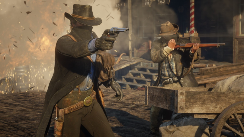 ​'Red Dead Online' Gets New 32-Player Battle Royale Mode, Gun Rush