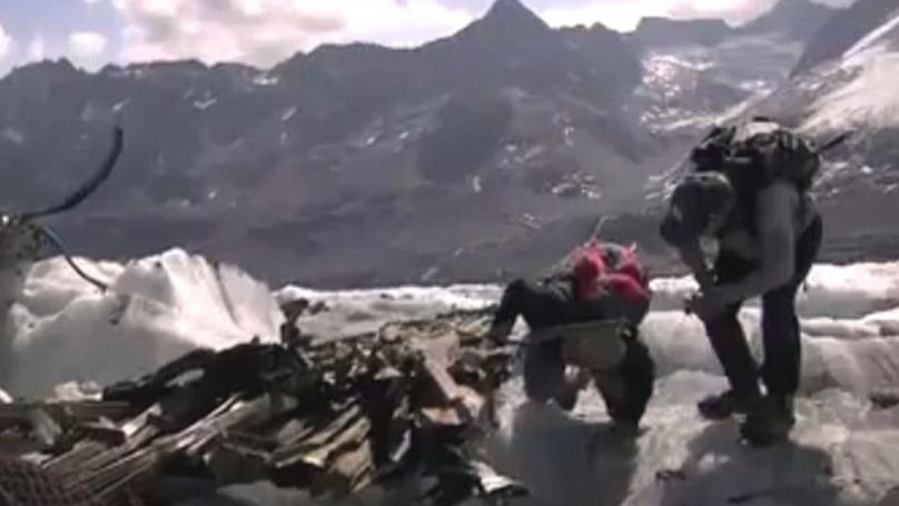 WWII Dakota Plane Wreckage Uncovered After Recent Heatwave Melts Glacier