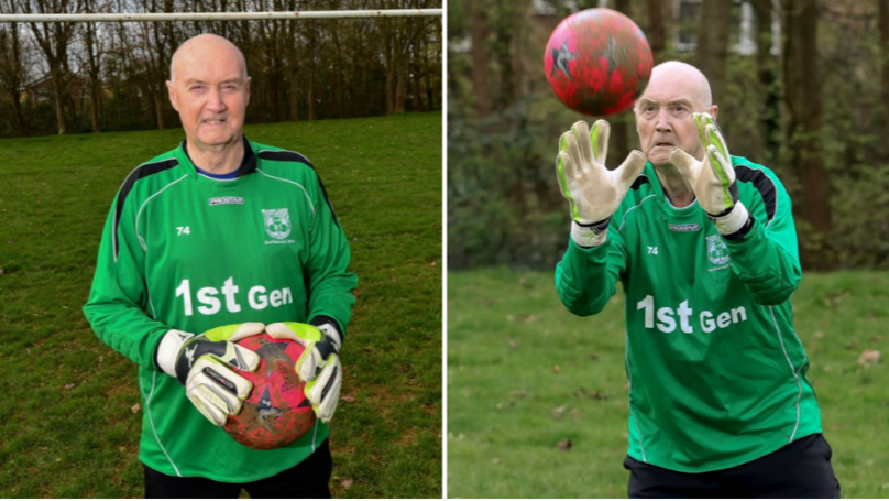 Meet 79-Year Old Colin Lee, Britain's Oldest Goalkeeper