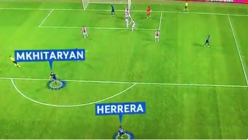 WATCH: Mkhitaryan Wouldn't Have Scored Last Night If It Wasn't For Ander Herrera