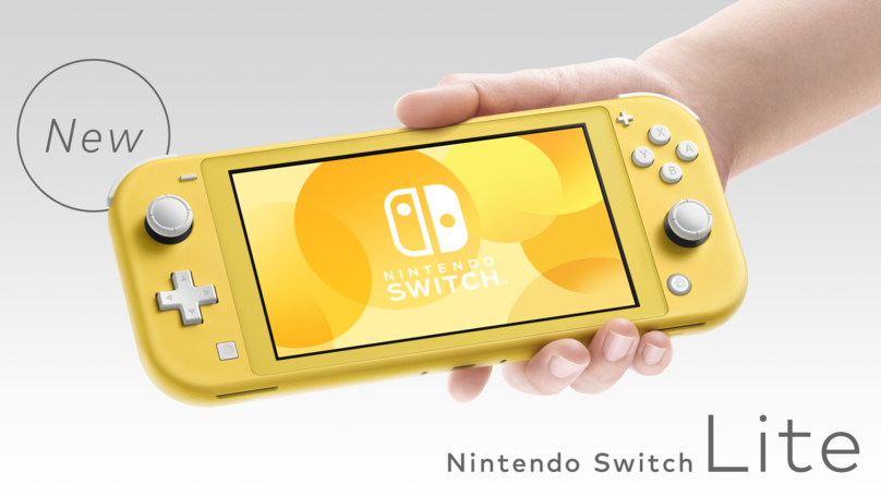 ​The Nintendo Switch Lite Is A Handheld-Only Version Of The Console