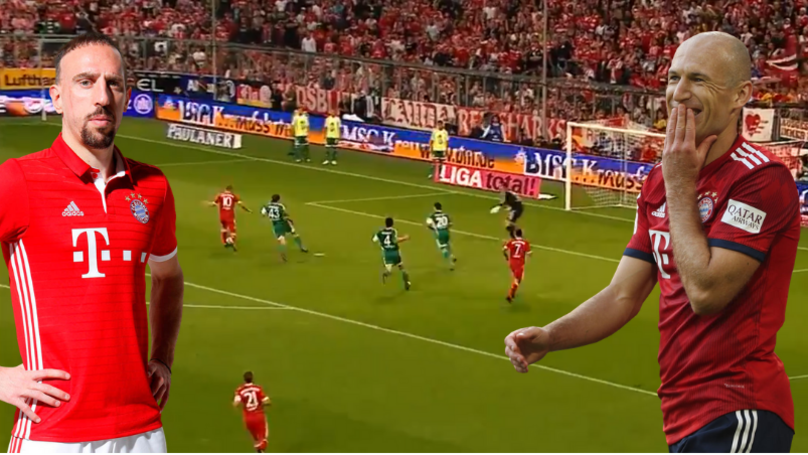 Bundesliga Release Nine Minute Compilation Of Robben And Ribery's Bayern Munich Best Bits