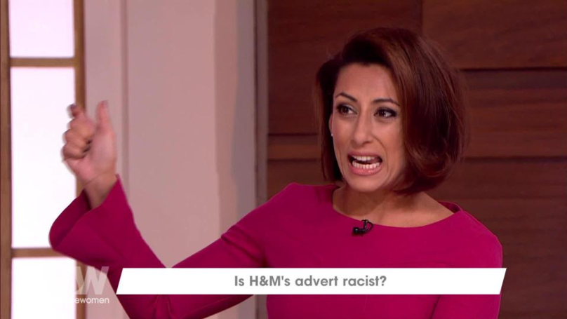 Saira Khan Defends H&M's Controversial Hoody On 'Loose Women'