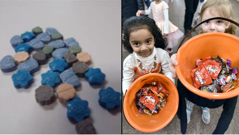 Meth Pills Are Being Made To 'Look Like Sweets' Ahead Of Halloween